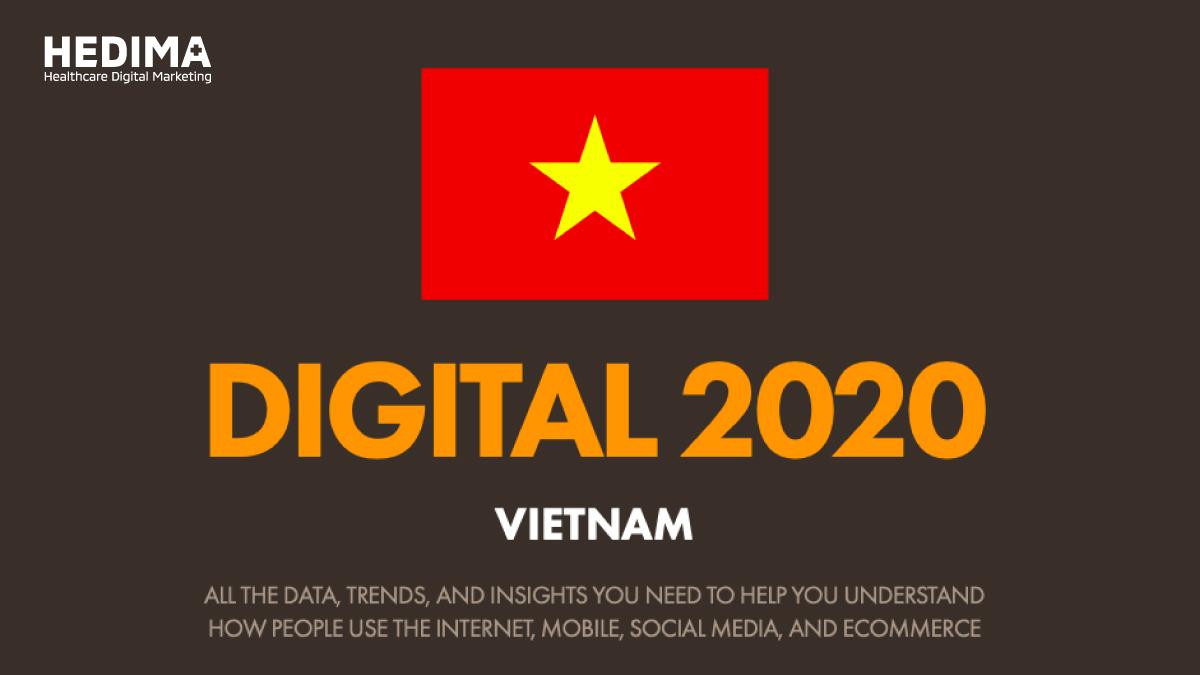 Báo cáo tổng quan tình hình digital tại thị trường Việt Nam đến tháng 01/2021
