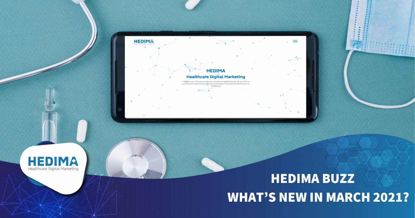 HEDIMA BUZZ- WHAT'S NEW IN MARCH 2021