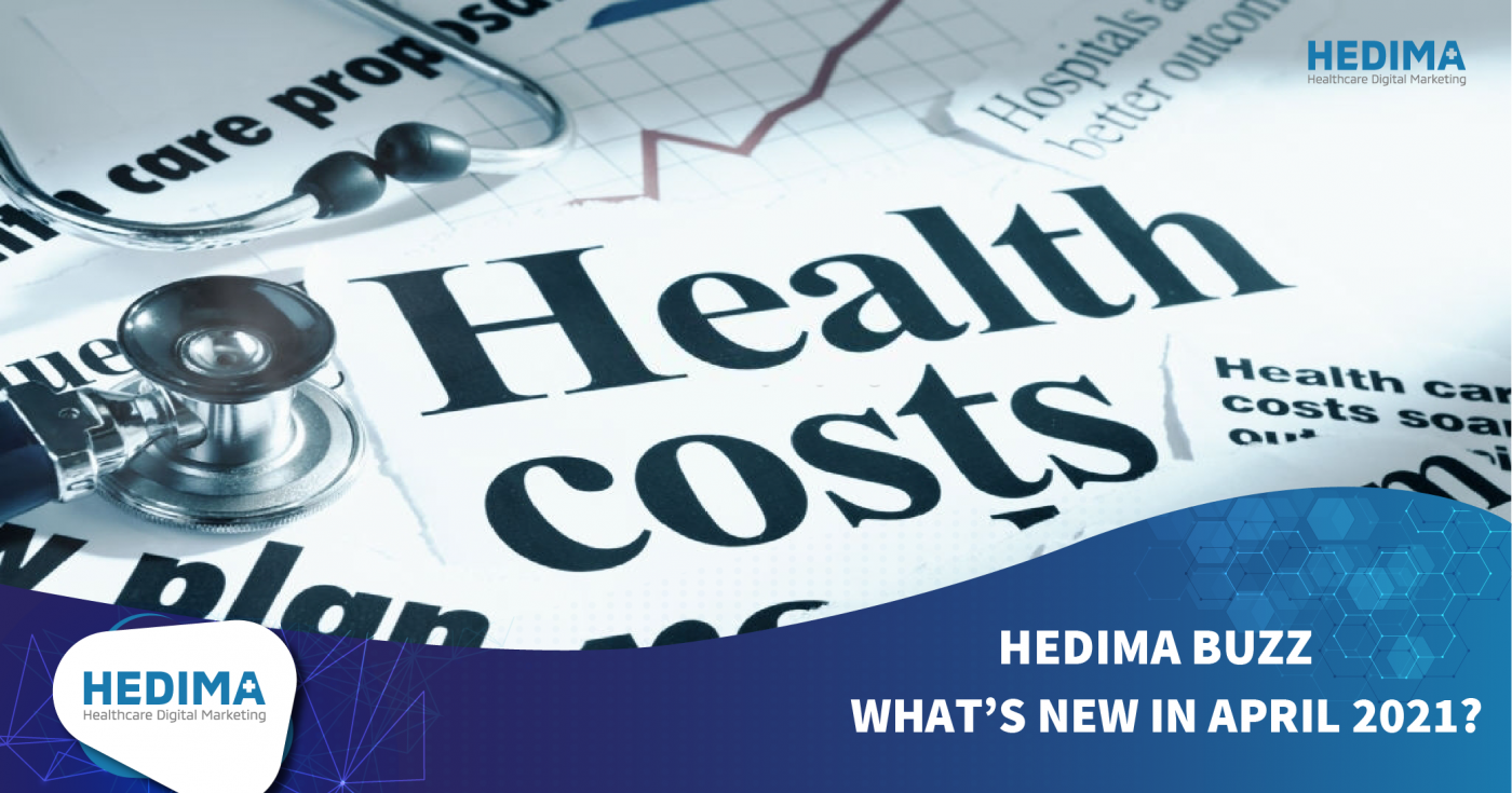 HEDIMA BUZZ - WHAT'S NEW IN APRIL 2021?