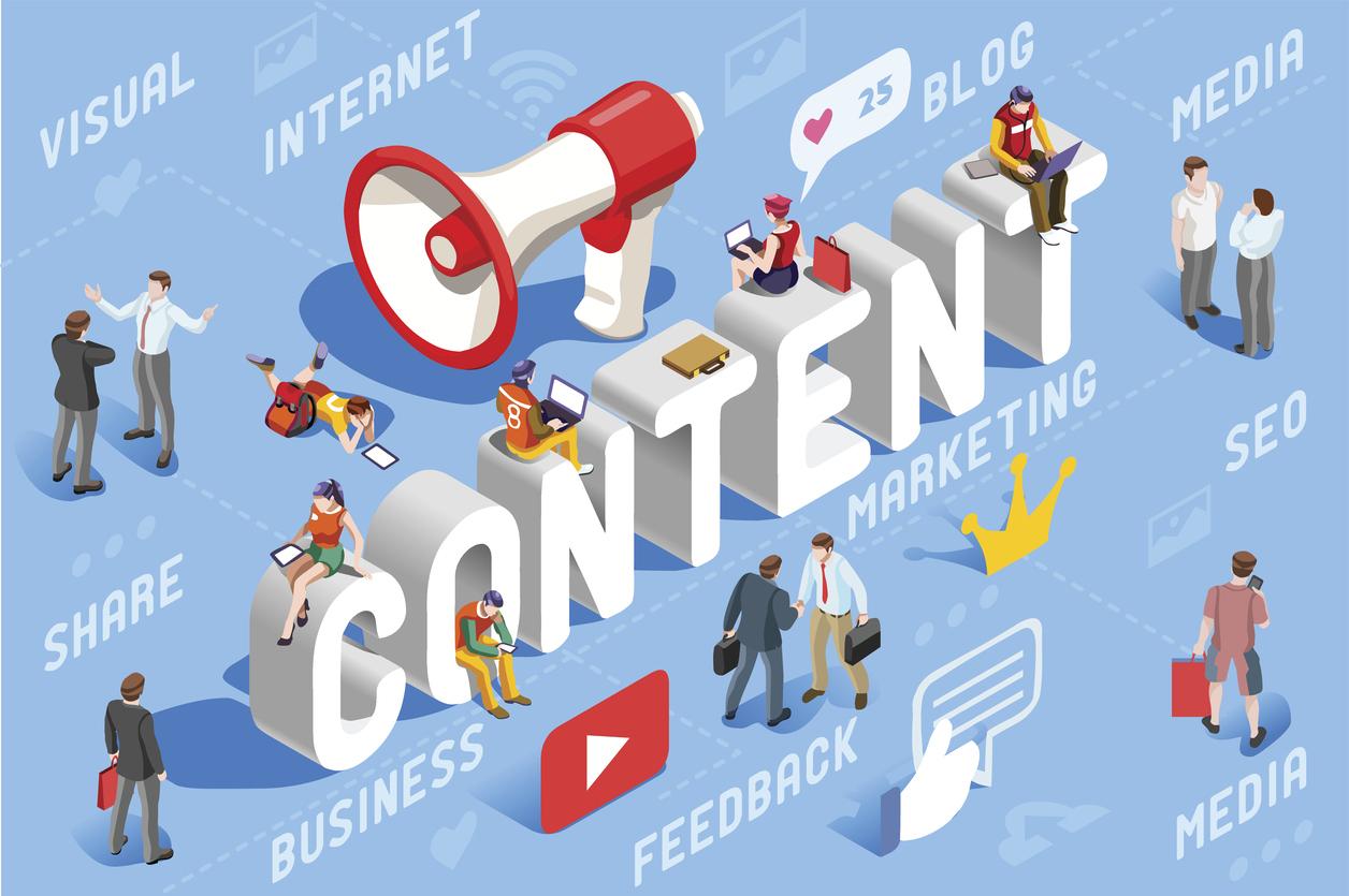 Content strategy đóng vai trò quan trọng trong marketing dược có sử dụng content là phương tiện chính.