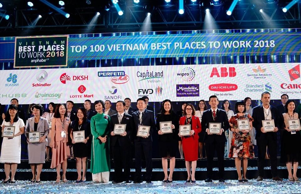 Sanofi Việt Nam được vinh danh trong Top 100 nơi làm việc tốt nhất Việt Nam 2018