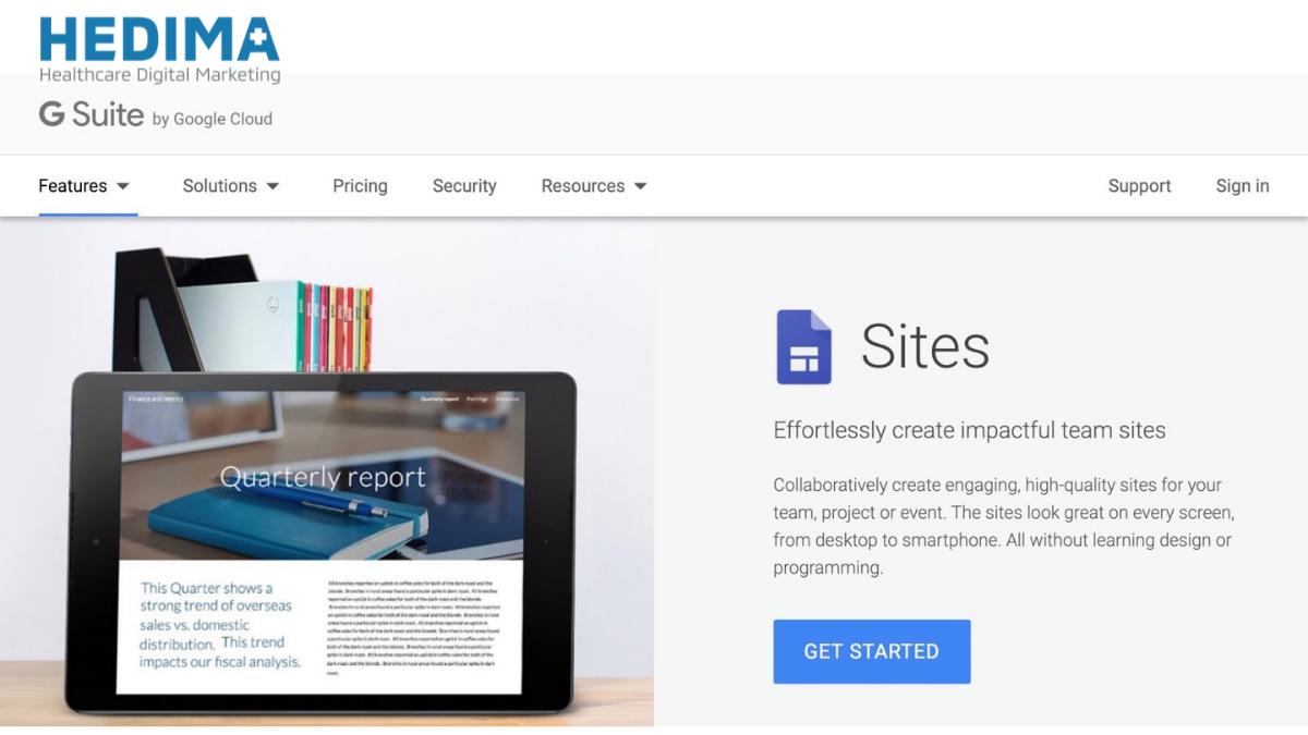 Google Site là gì? Xây dựng website trong vài click chuột
