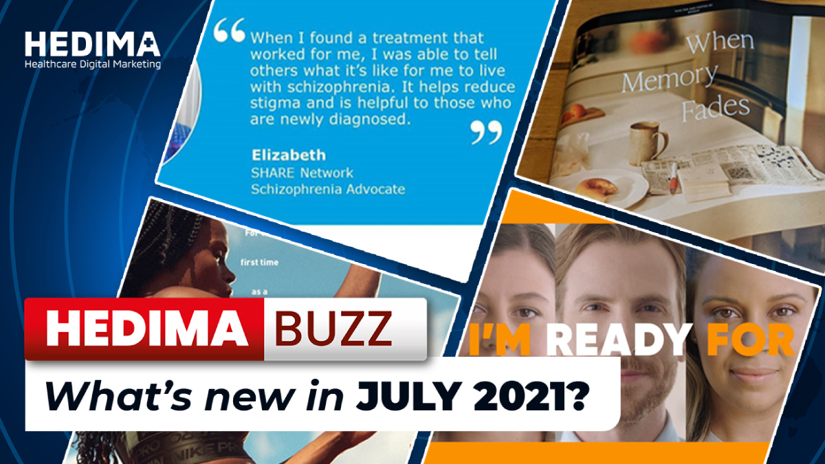 HEDIMA Buzz – What's new in july 2021?