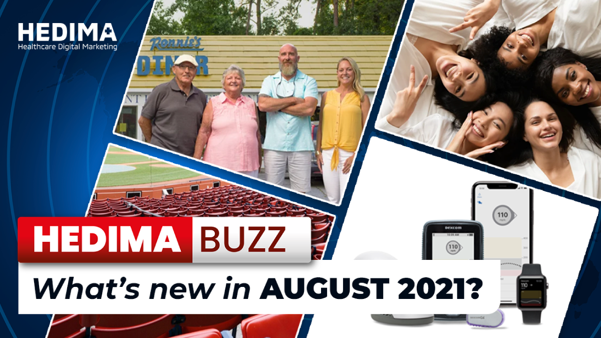 HEDIMA Buzz – What's new in august 2021?